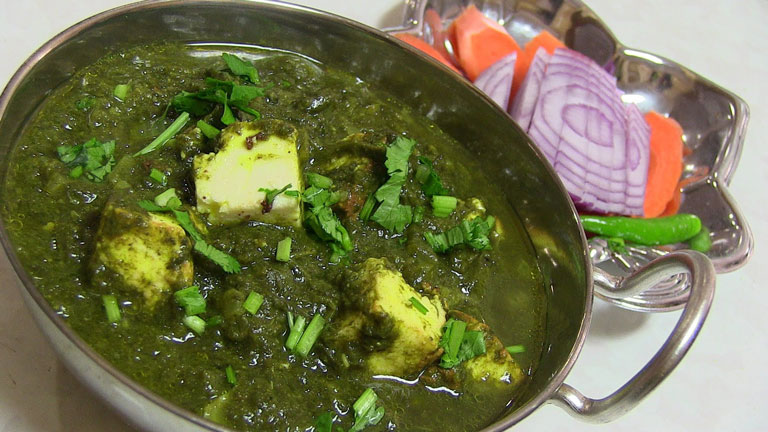 Spinach-Paneer